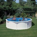 Piscina chapa desmontable